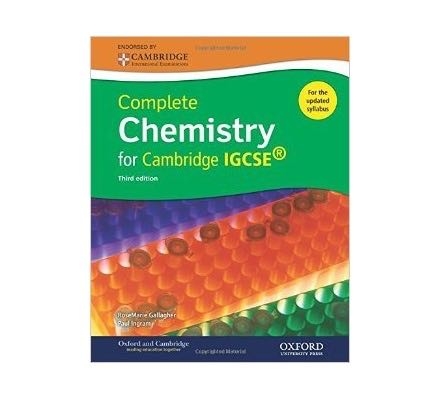 Complete Chemistry for Cambridge IGCSE Student Book Third Edition