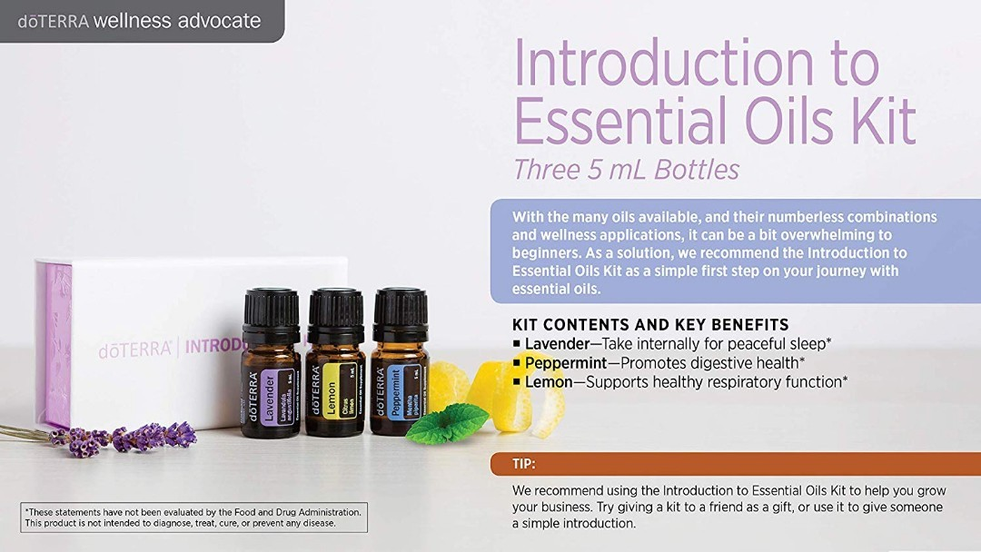 ♥Essential oils introductory kits♥