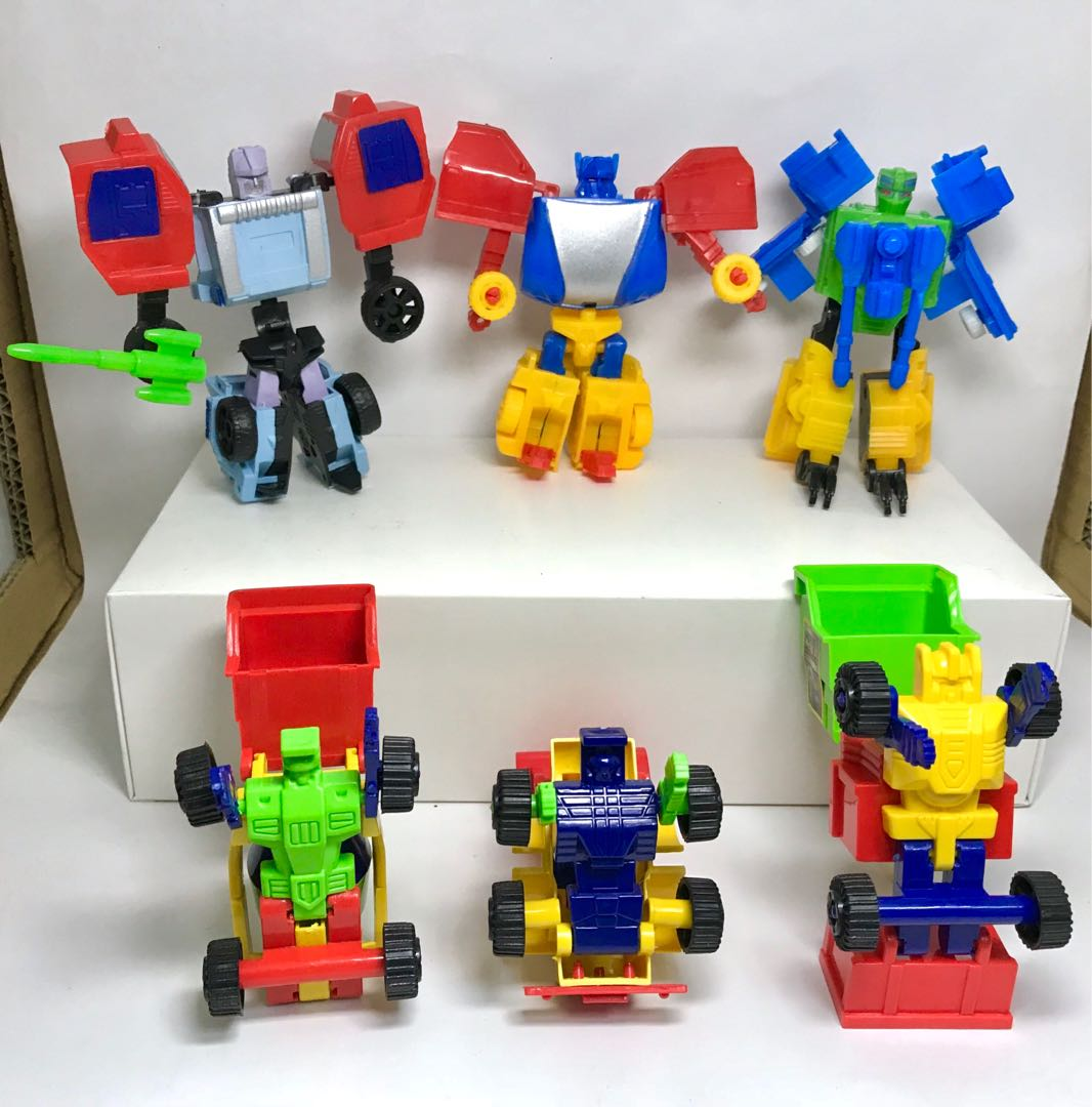 Transformer Car Toys 2 In 1 War & construction vehicle