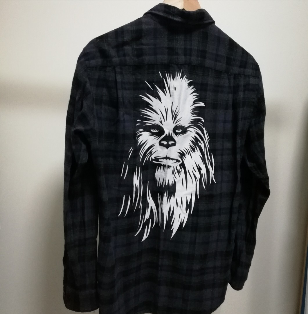 Uniqlo Limited Edition Star Wars flannel