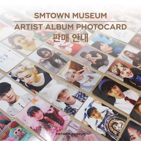 SMTOWN Museum photocards