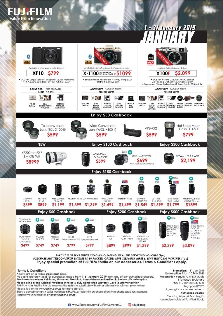 Latest Fujifilm deals.