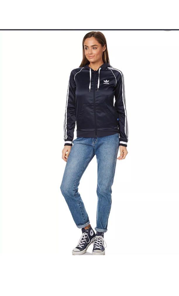 Originals Women's Fz Adidas Slim Hoodie 8n0vNwmO