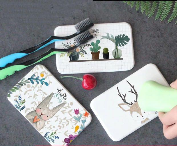 Diatomite Mat 8 cute designs