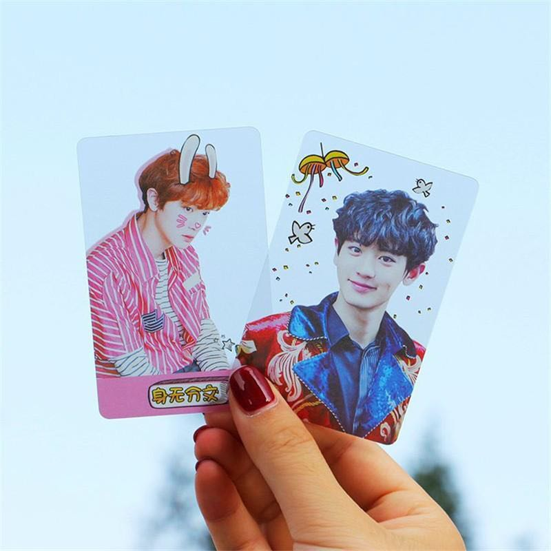 Customisable Transparent Photocards