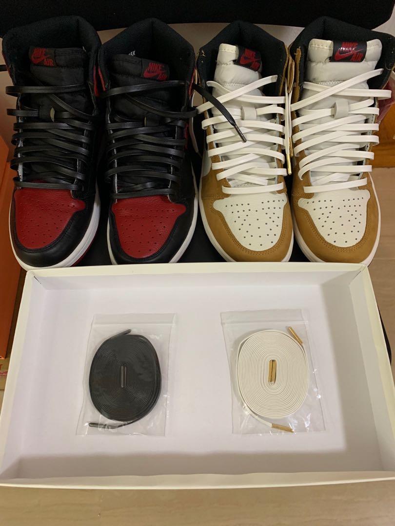 Air Jordan 1 Lamb Skin laces