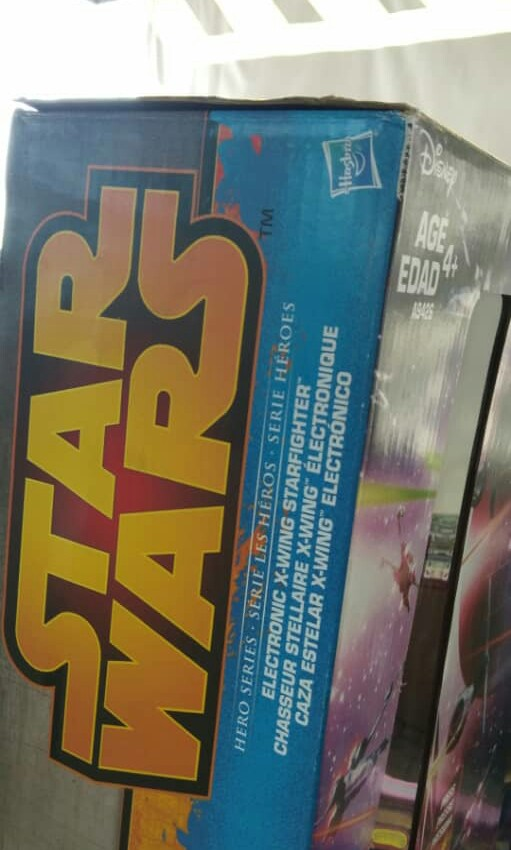 Hasbro starwars Hero Series X -wing Star fighter A New Hope