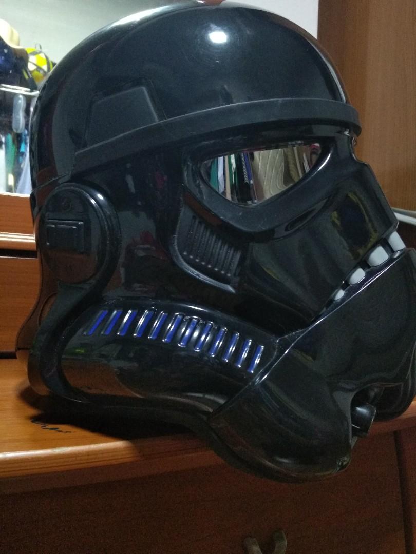 Black Series Shadow trooper helmet FOR SALE