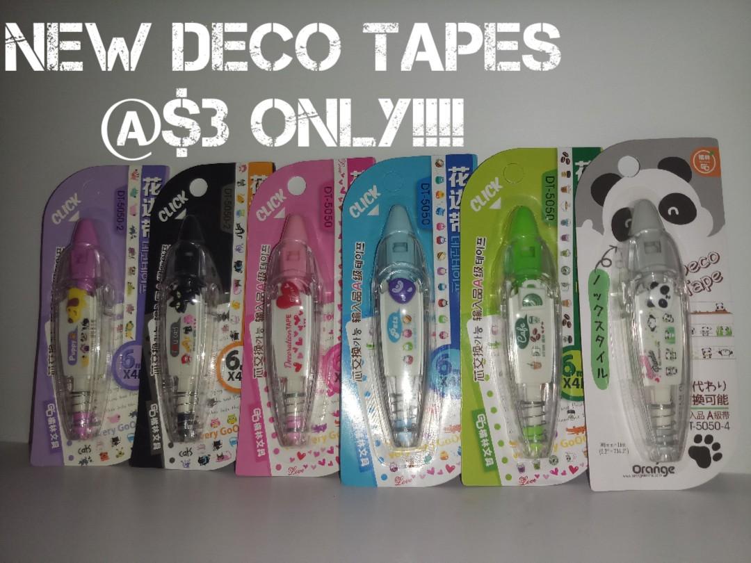 [INSTOCKS!!] Super Adorable Deco Tapes