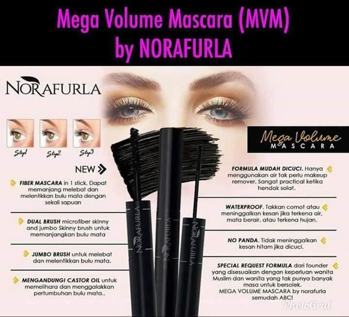 Norafurla Mega Volume Mascara