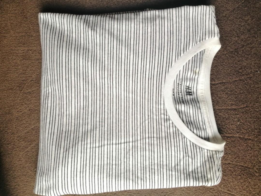 H&M stripes shirt to let go ✨