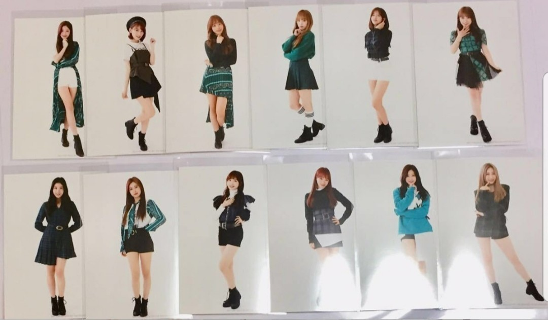 [INTEREST CHECK] IZ*ONE - Suki to Iwasetai (WIZ*ONE Edition Photos)