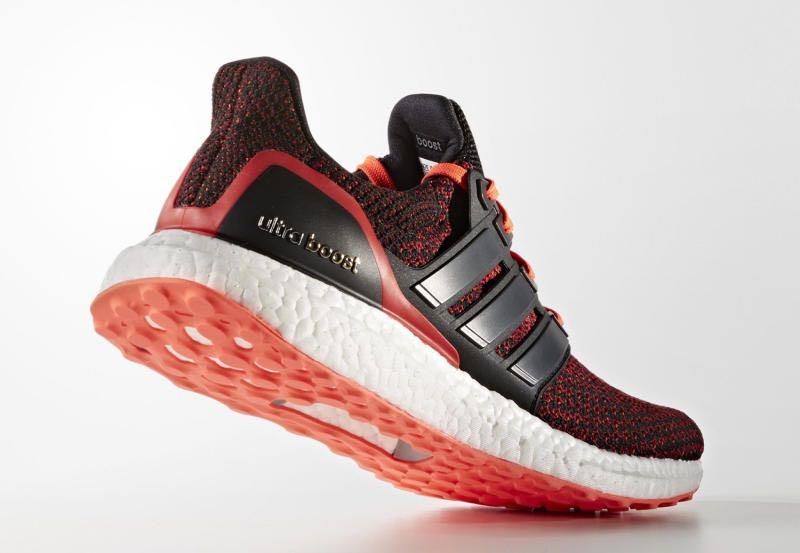 Adidas ultraboost solar red