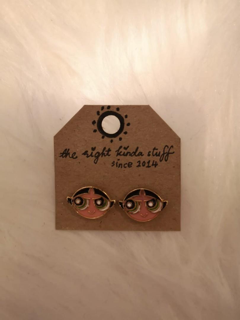 Selling Cute Bubbles & Buttercup earrings