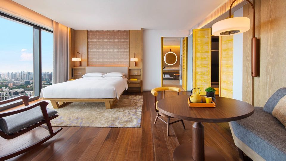 Staycation At Andaz Singapore hotel