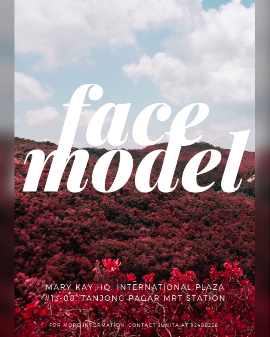Face Models Needed