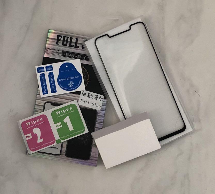 Premium Full Glue Huawei Mate 20/ Mate 20 Pro Tempered Glass