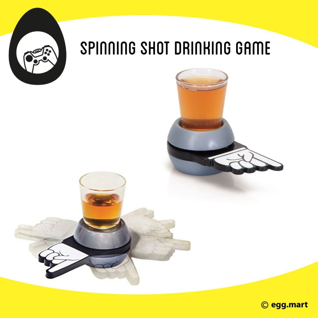 Drinking games launch promo