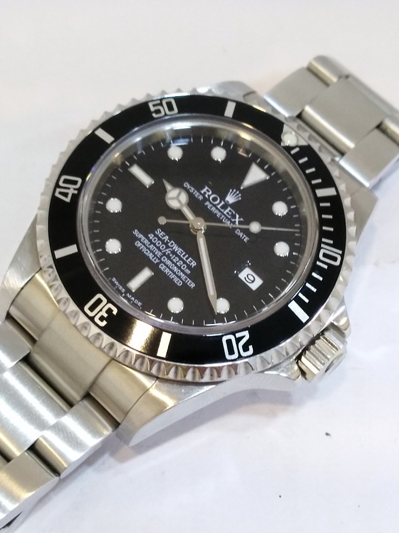 Used Rolex Sea Dweller 16600 F serial S/S 40mm Automatic (Watch Only)