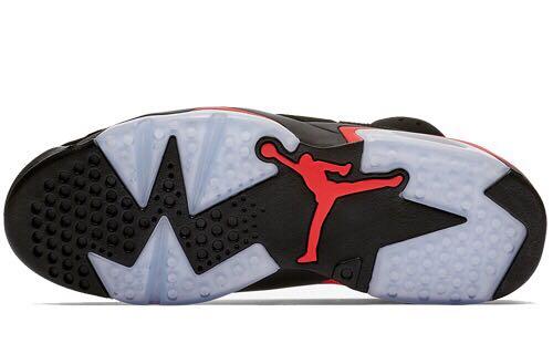 Selling Air Jordan 6 Black infrared