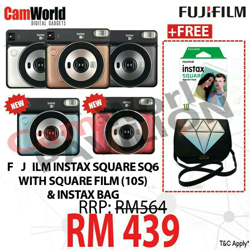 |  FUJIFILM INSTANT CAMERA  |  https://shopee.com.my/camworld_pavilionkl