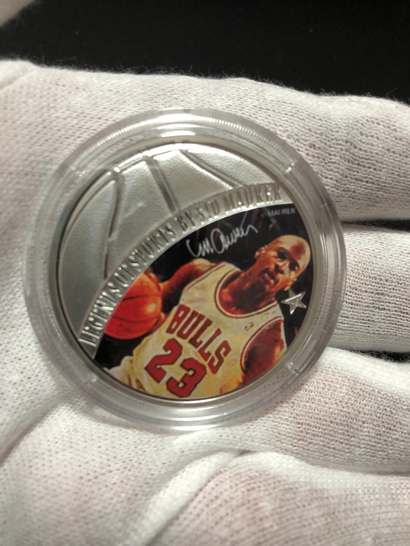 Michael Jordan 1 oz Silver Coin for $148