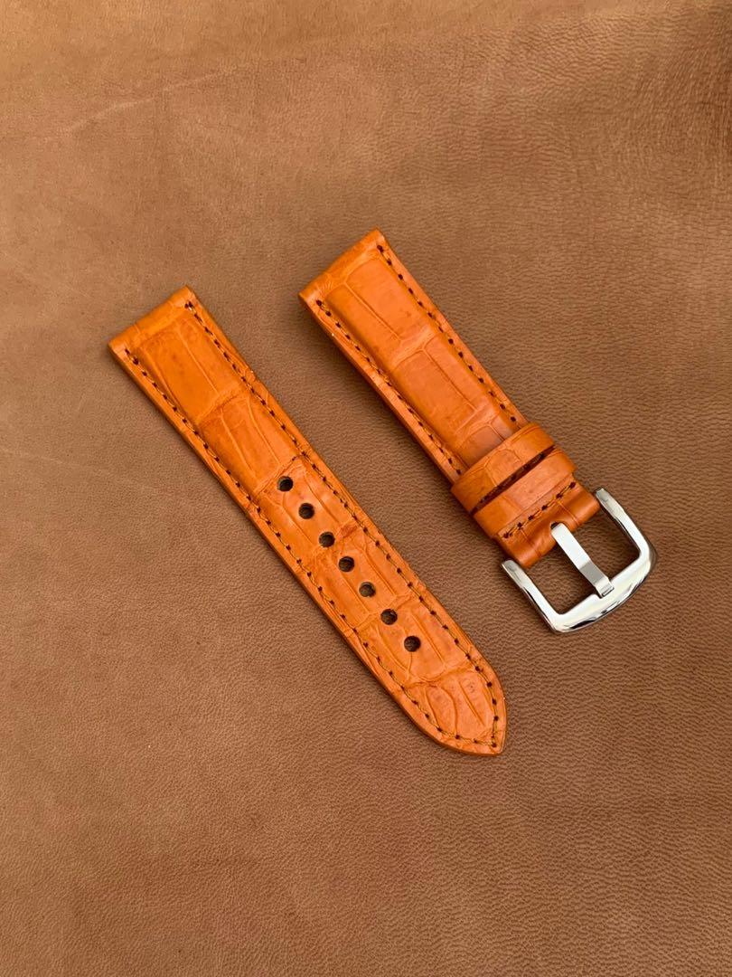 Genuine alligator crocodile ostrich watch straps