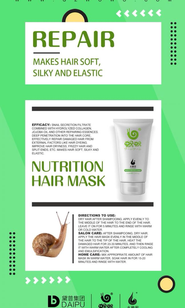 Wowo Hair Mask (100% Authentic!)
