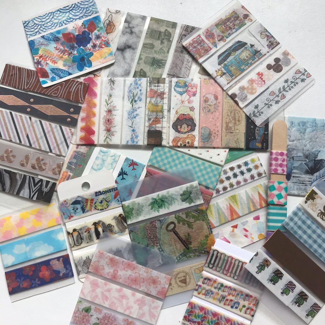 selling washi samples