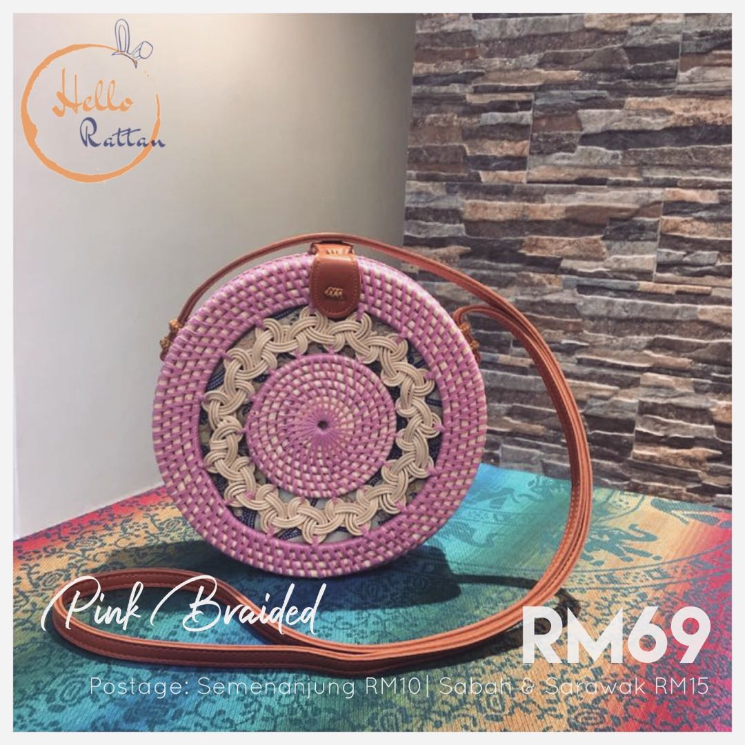 Rattan Bag (ready stock)