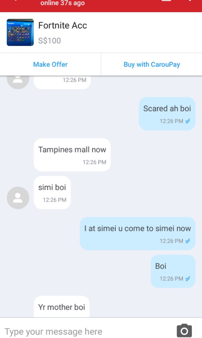 asshole play mother,beware scammer