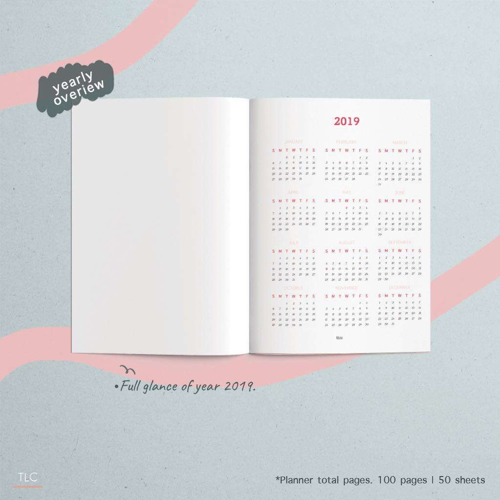 Customise your own planner!