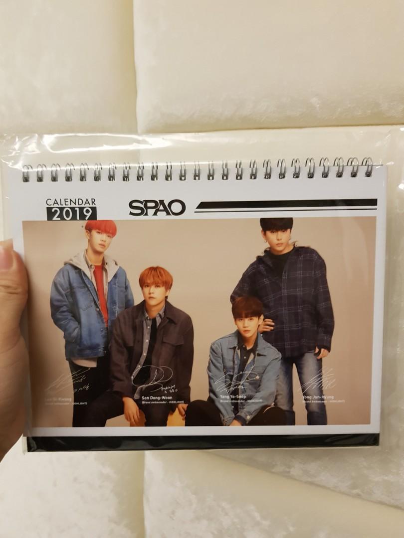 Highlight x Spao 2019 Calendar