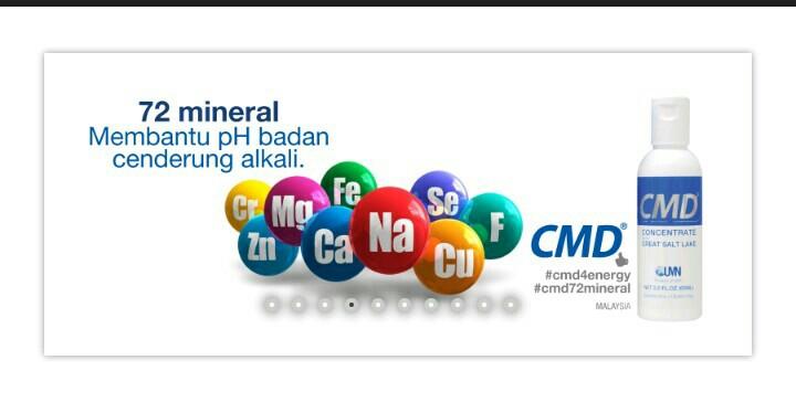 CMD (concentrade mineral drop)