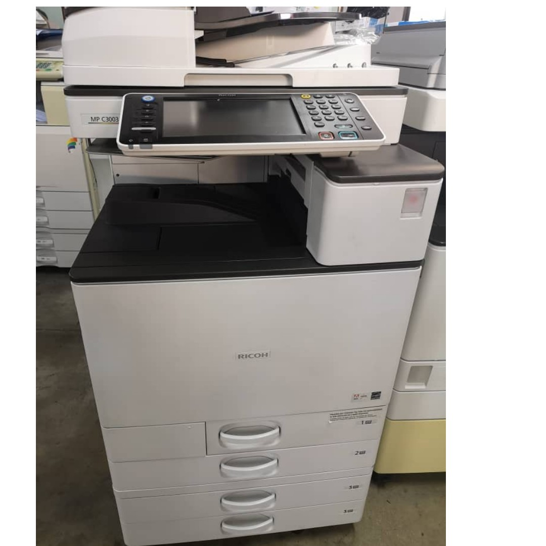 Copier machine copy print scan rental sales offer