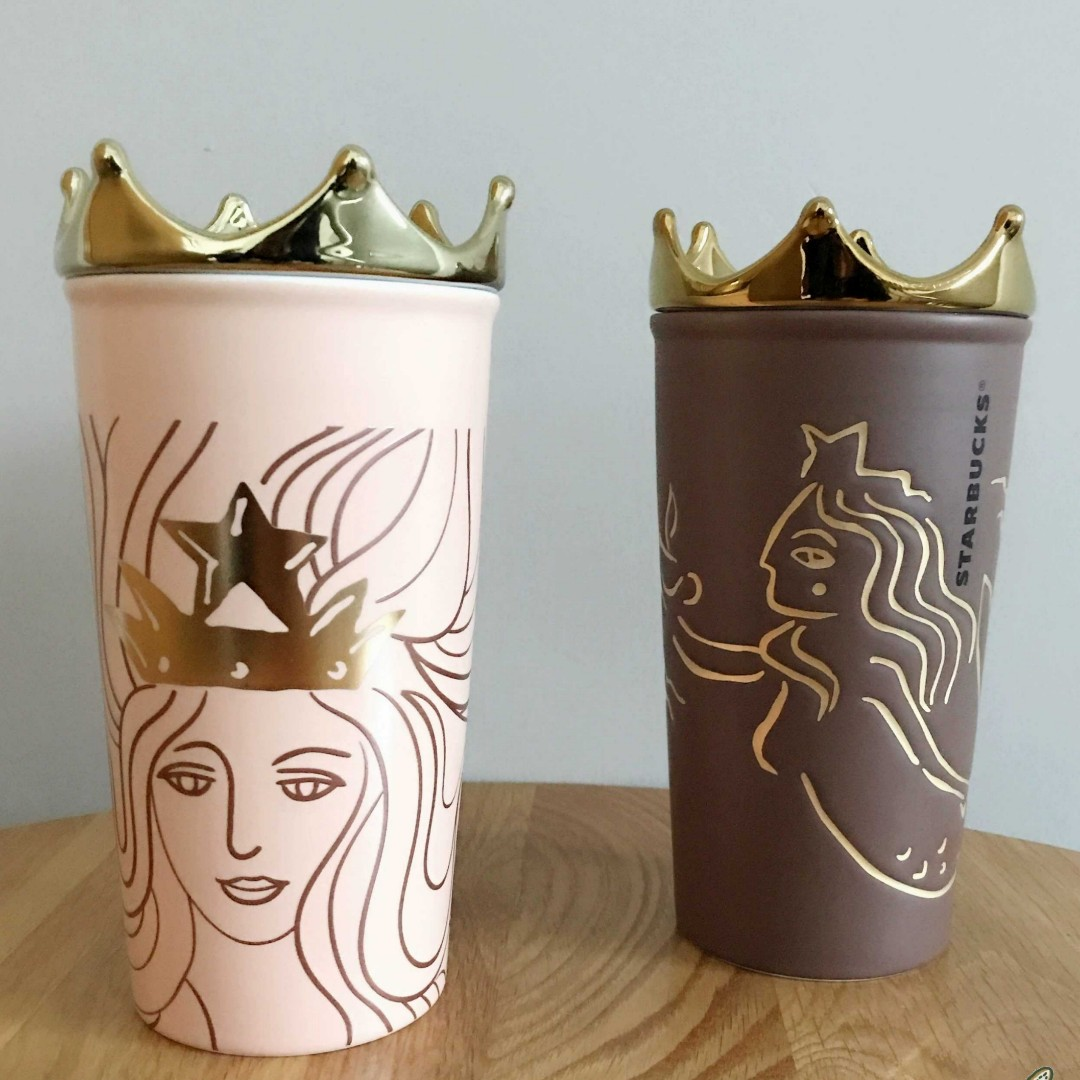 STARBUCKS Gold Crown Limited Edition