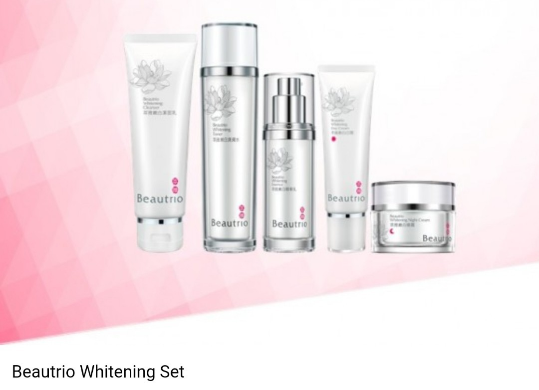 Beautrio Whitening Set