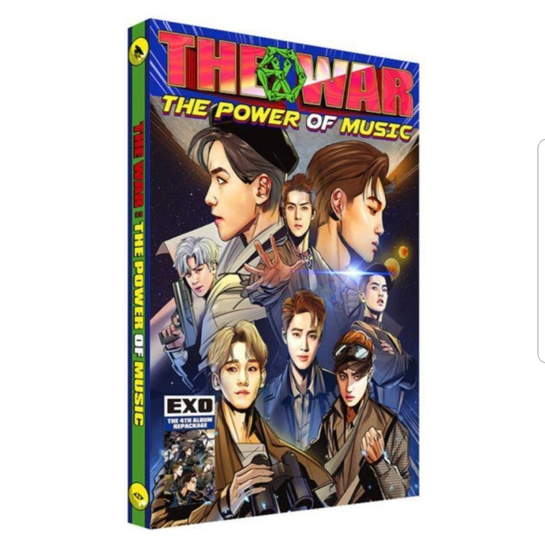 lf/wtb the war the power of music unsealed/sealed album