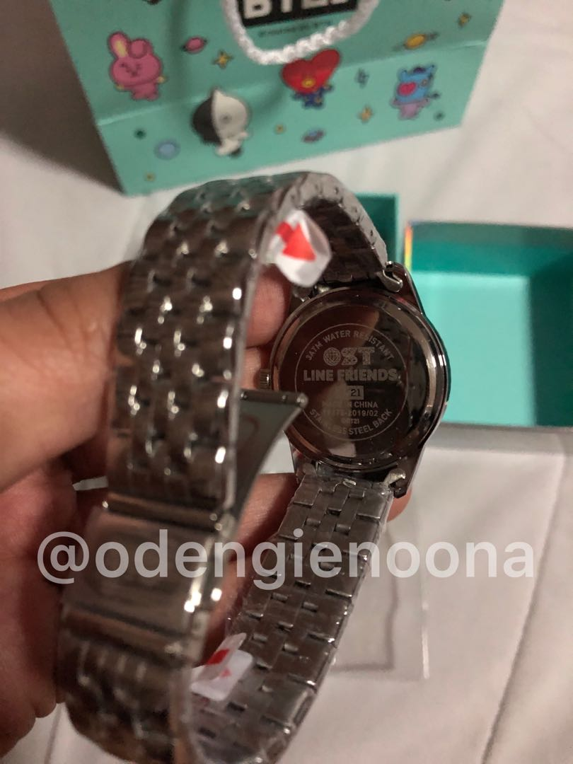 On-hand Official BT21xOST Watch