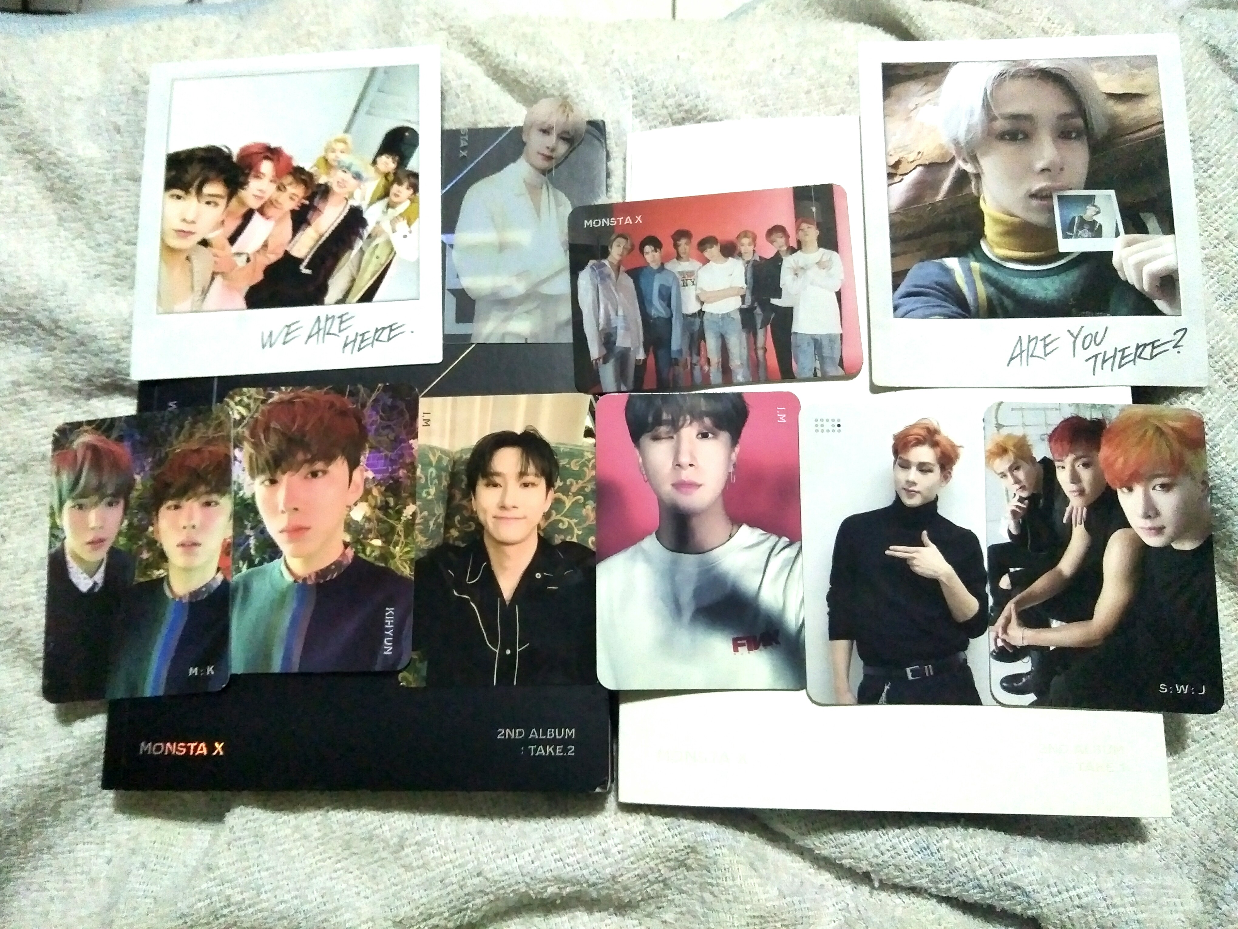 [WTT/WTS] Monsta X: We are here