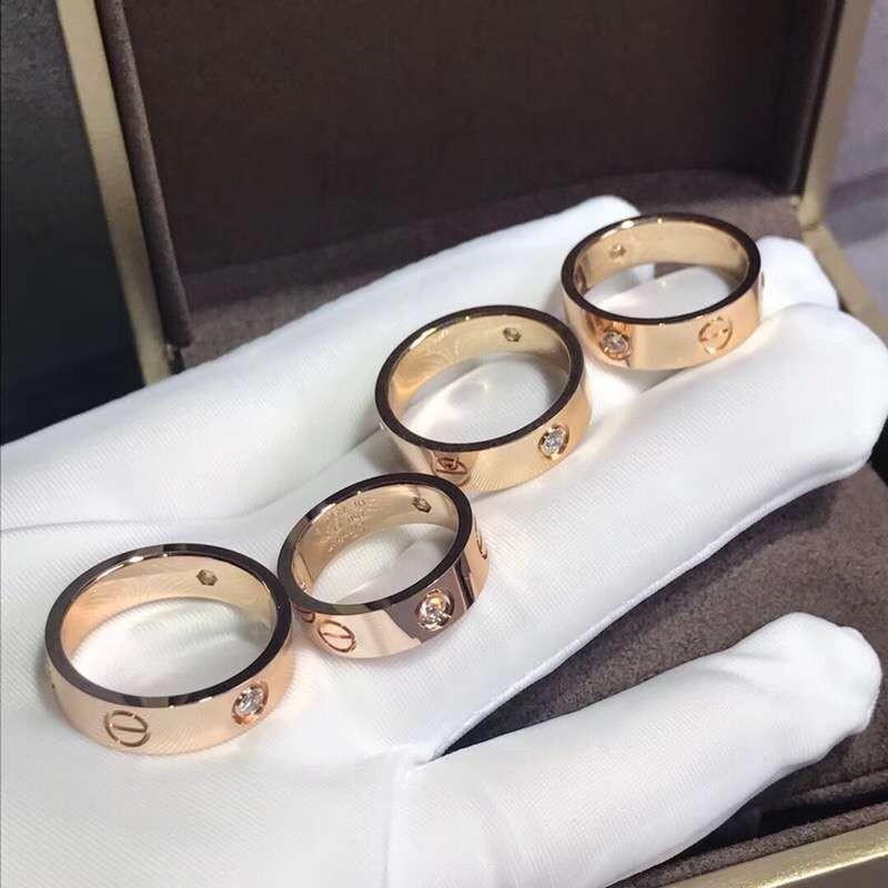 🔥Cartier 18k gold love ring
