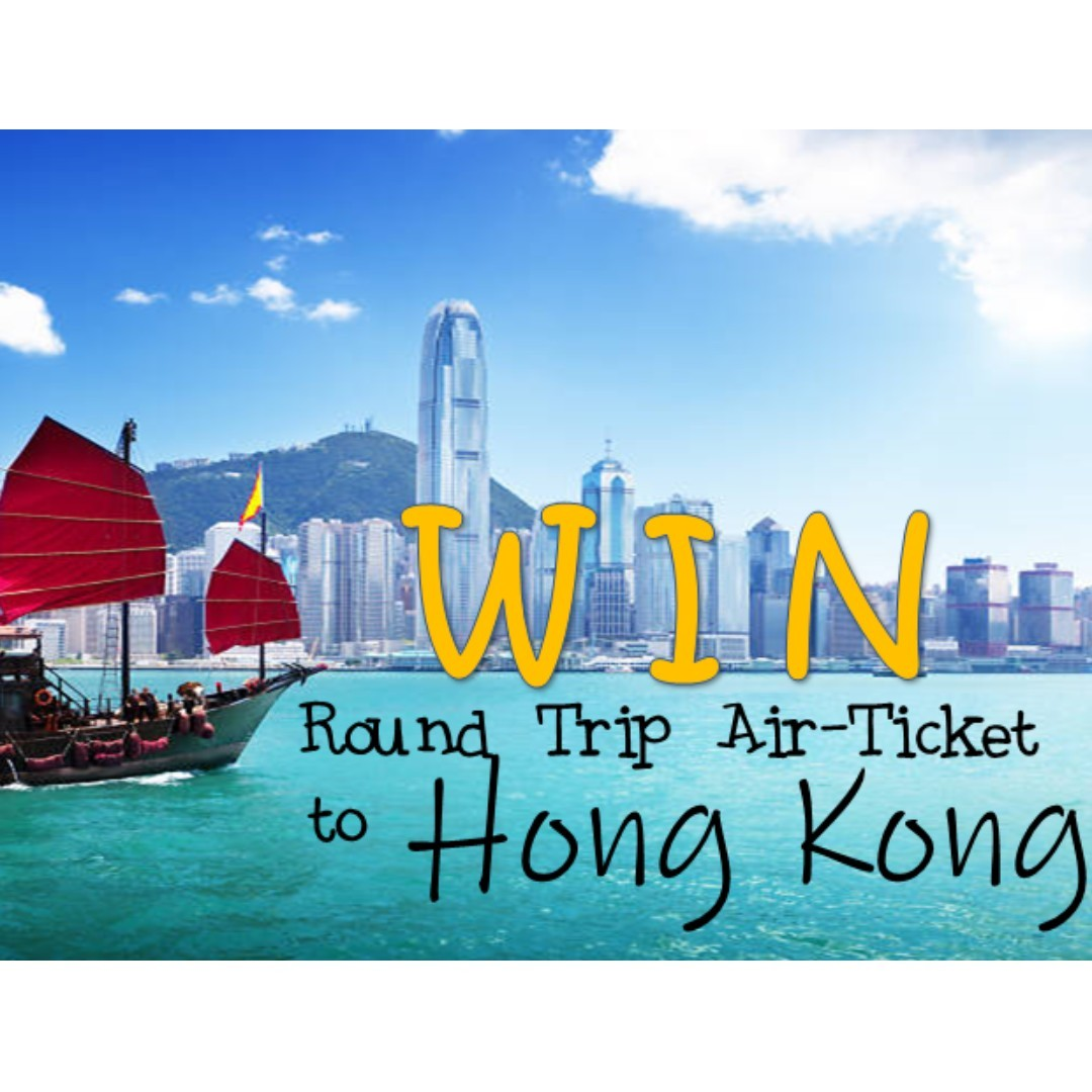 WIN a round trip air ticket to Hong Kong!
