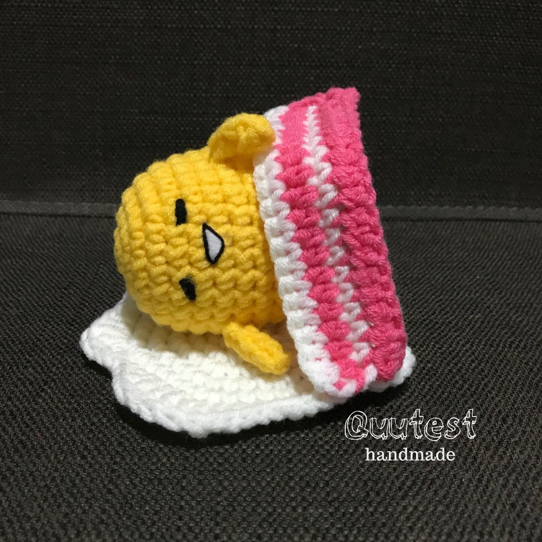 Handmade crochet soft toy