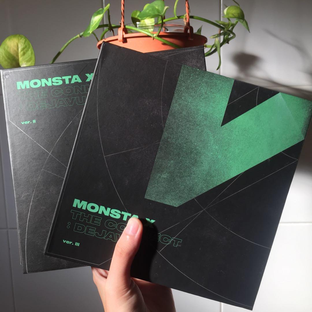 monsta x the connect: dejavu albums!!