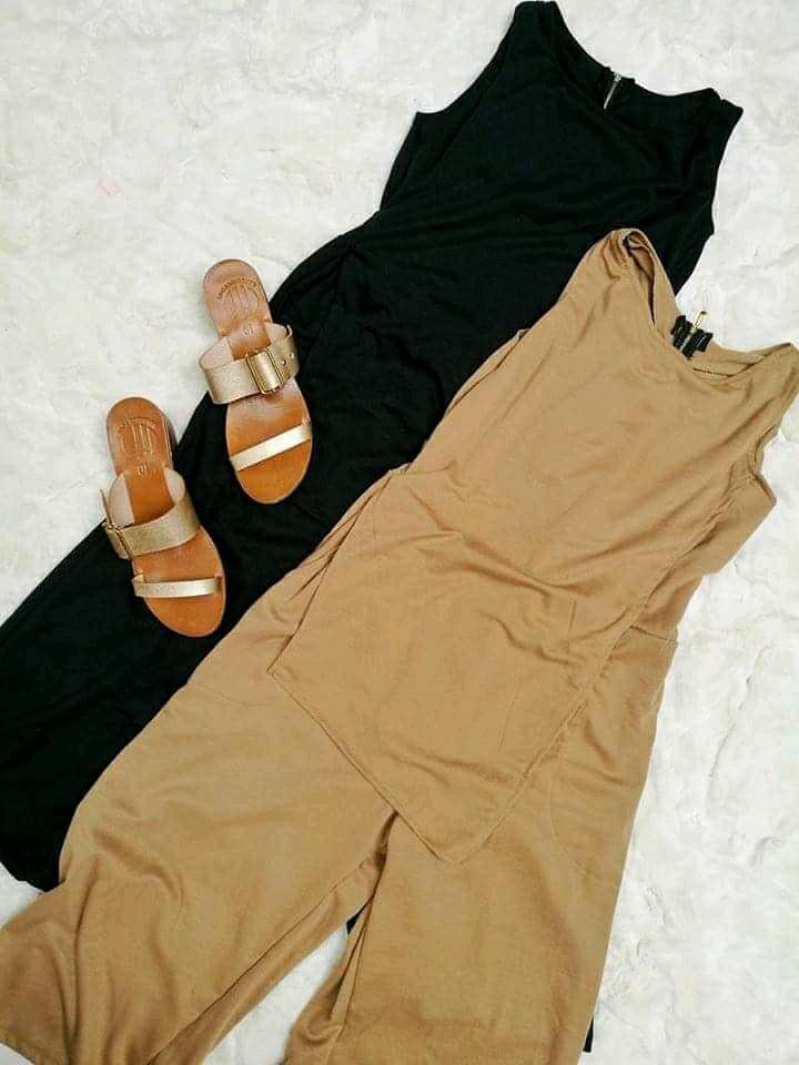 Zipback jumpsuit 😍
