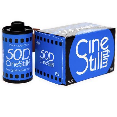 INSTOCK CineStill50D 35mm Film!