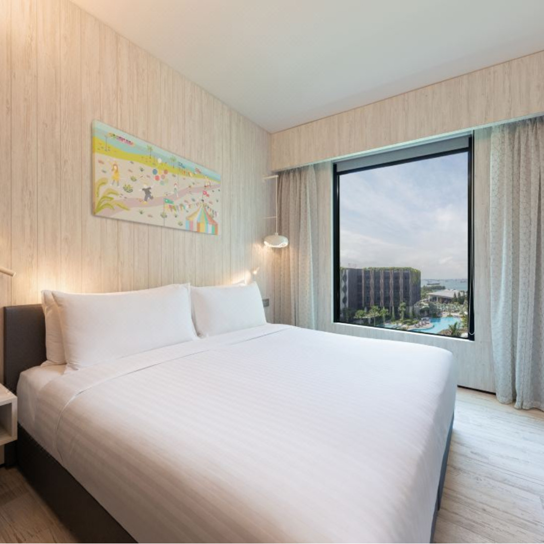 NEW hotels opening in Sentosa, message me for BEST RATES