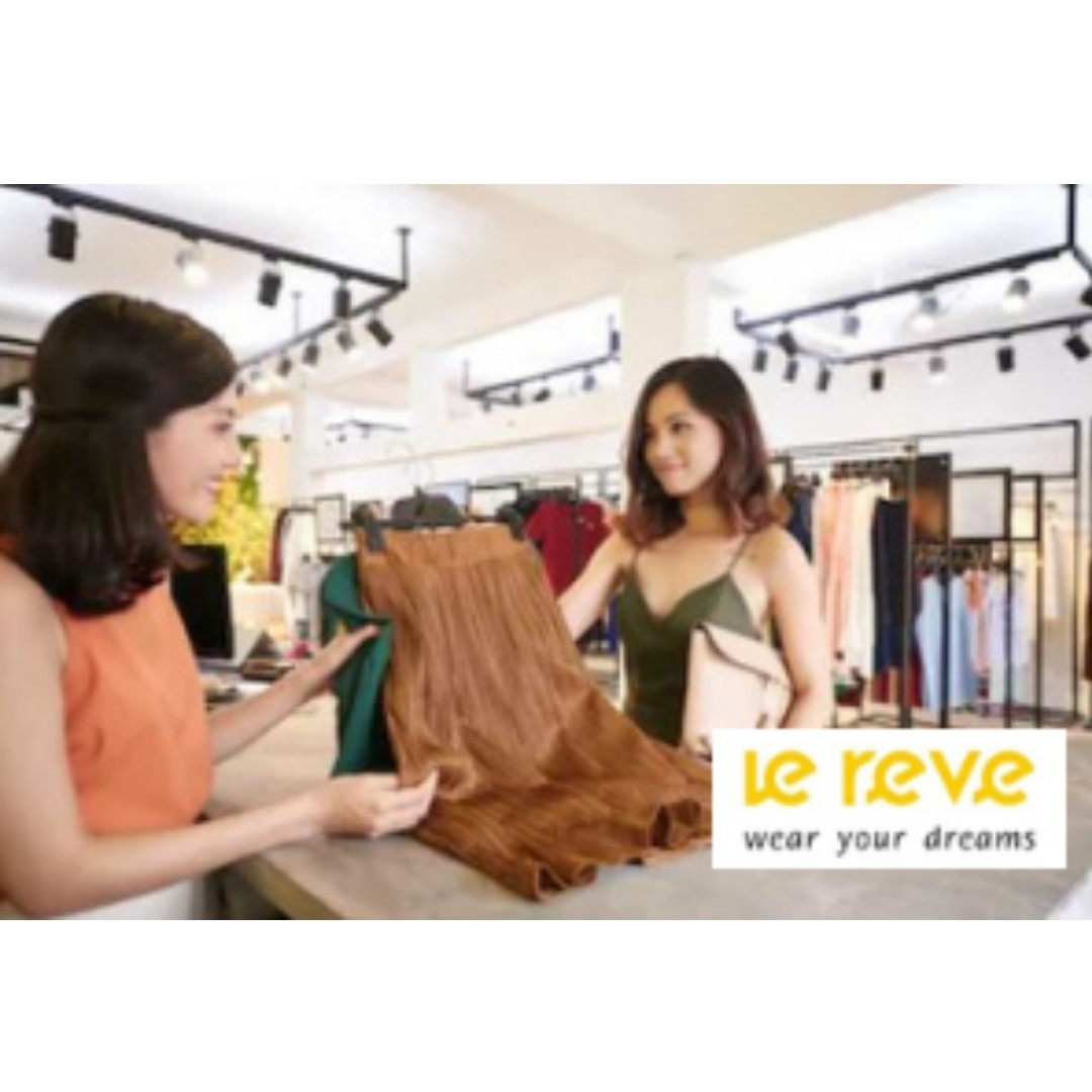Retail Associate at Tampines Mall ( Part Timer / Full Timer)