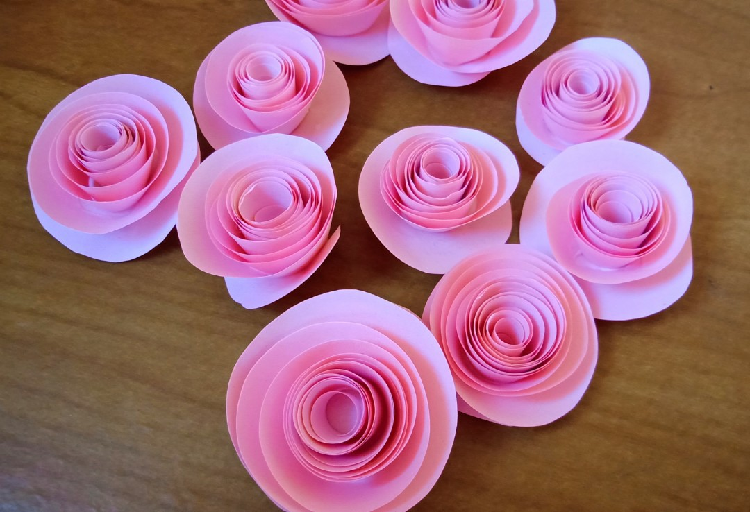 Handmade paper flowers for sale