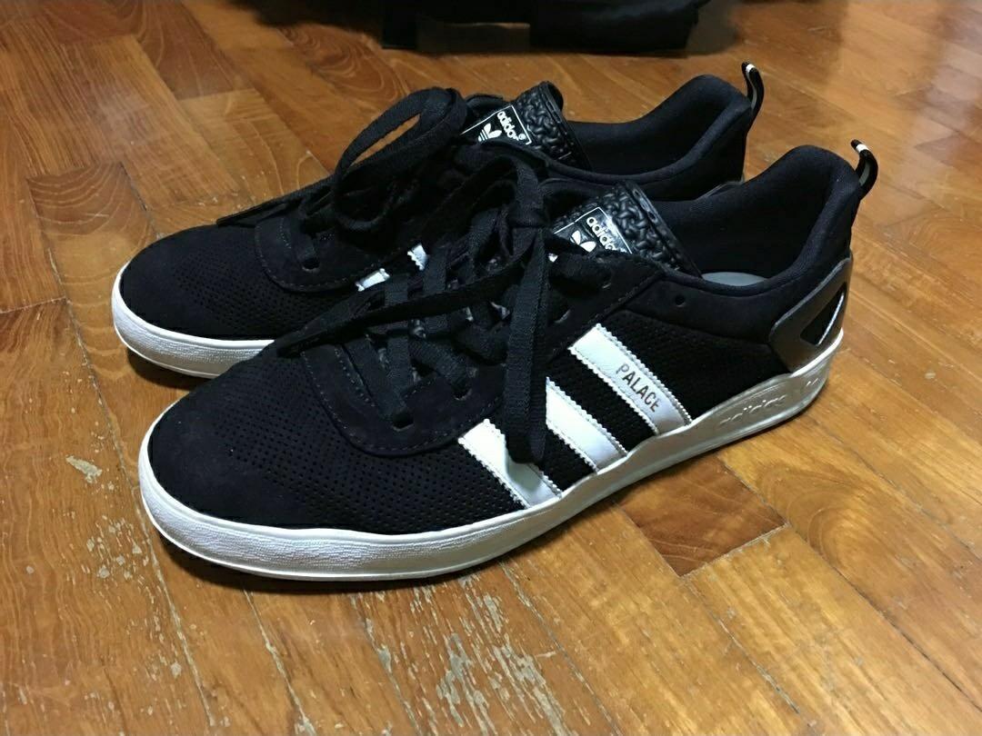 US8 Adidas Palace Pro Black Suede